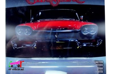1958 PLYMOUTH FURY FILM CHRISTINE GREENLIGHT 1/64.