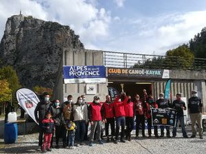 Castellane : Compétition nationale de Rafting, c'était ce week-end