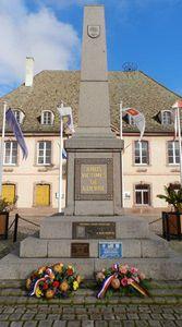 Le 11 novembre à Neuf-Brisach