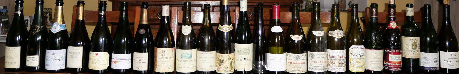 l'ensemble des bouteilles