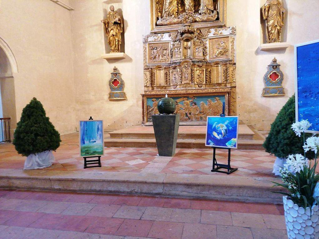 Exposition JEP2019   Chapelle Saint Benoît  à Marmande Gisèle Dalla Longa