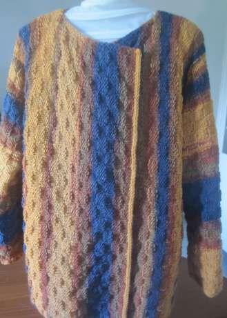 La veste multicolore