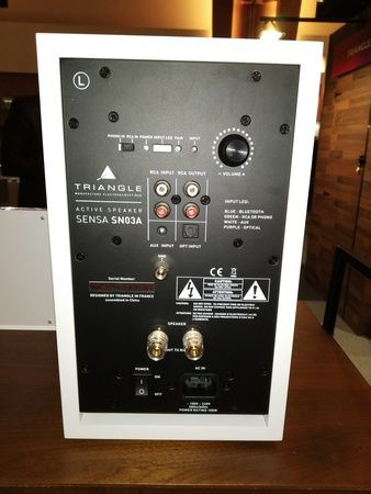 enceintes Triangle Sensa @ Paris Audio Vidéo Show 2018 - Tests et Bons Plans