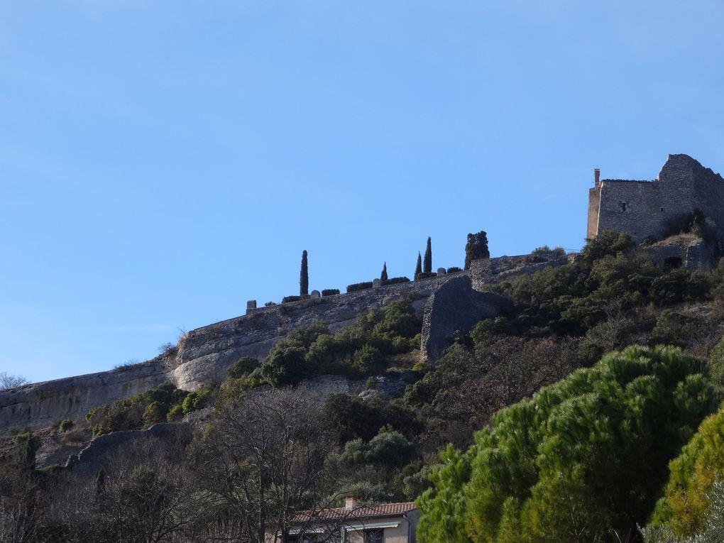Parcours n°53 noir Travignon par le Cluyer, au départ de St Saturnin-les-Apt (84) le 31/01/2021 (Espace VTT-FFC Provence Luberon Lure)