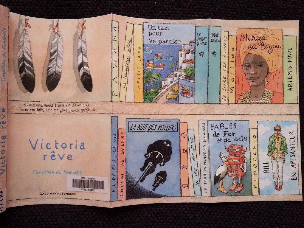 Victoria rêve. Timothée de FOMBELLE – 2012 (Dès 10 ans)