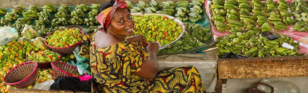 Imágenes de Adjamé, Abidjan, Costa de Marfil.- El Muni.