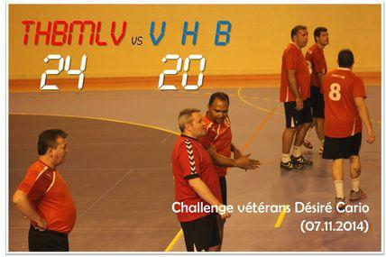 Vétérans THBMLV vs VILLEMOMBLE (Région - 07.11.2014)