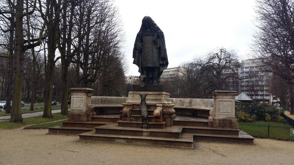 """La fable de La Fontaine """"le corbeau et le renard"""", rénovation entre 2018 et 2019"""