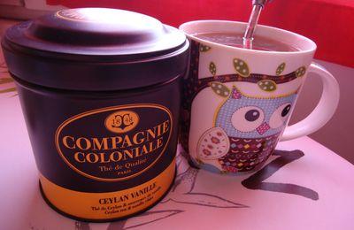 Thé de Ceylan à la vanille - Compagnie Coloniale
