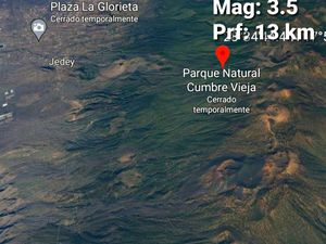 La Palma / Cumbre vieja - earthquakes at 09/30/2021 / 1:30 p.m. - midnight - earthquakes of the last 24 hours are in red and yellow - Doc. IGNes and last earthquake of the day - one click to enlarge