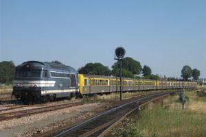 Le parc actuel des locomotives diesels de la SNCF