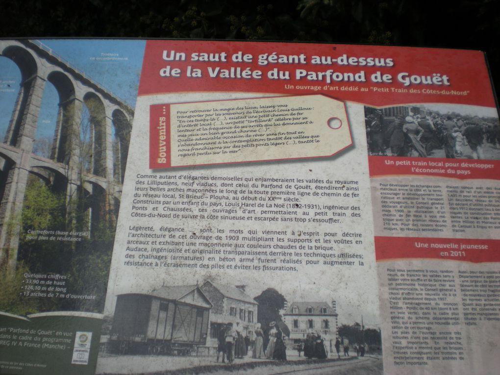 La rando de la vallée du Parfond et du viaduc de Percé.