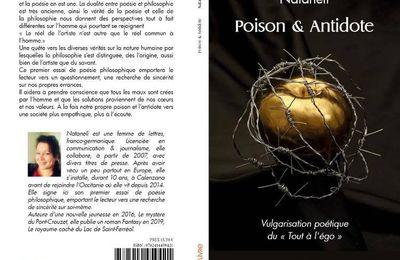 """Poison & Antidote Vulgarisation poétique du """"Tout à l'égo"""" (Nataneli)"""