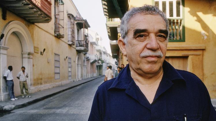 Gabriel Garcia Marquez à Carthagène (Colombie)
