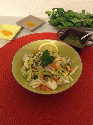 salade fraîche à l'orientale