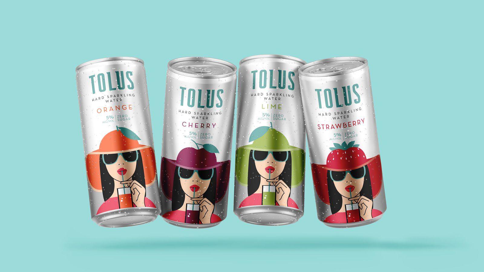 Tolus (eau pétillante) I Design : Nitid Studio, Argentine (août 2021)
