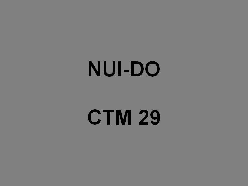 NUI DO  CTM 29 , Chaland de Transport de  Marériel