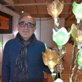 Artisanat d'art - Jean-Luc Masini expose jusqu'à ce soir au Salon de l'habitat de Gien, à la salle Cuiry