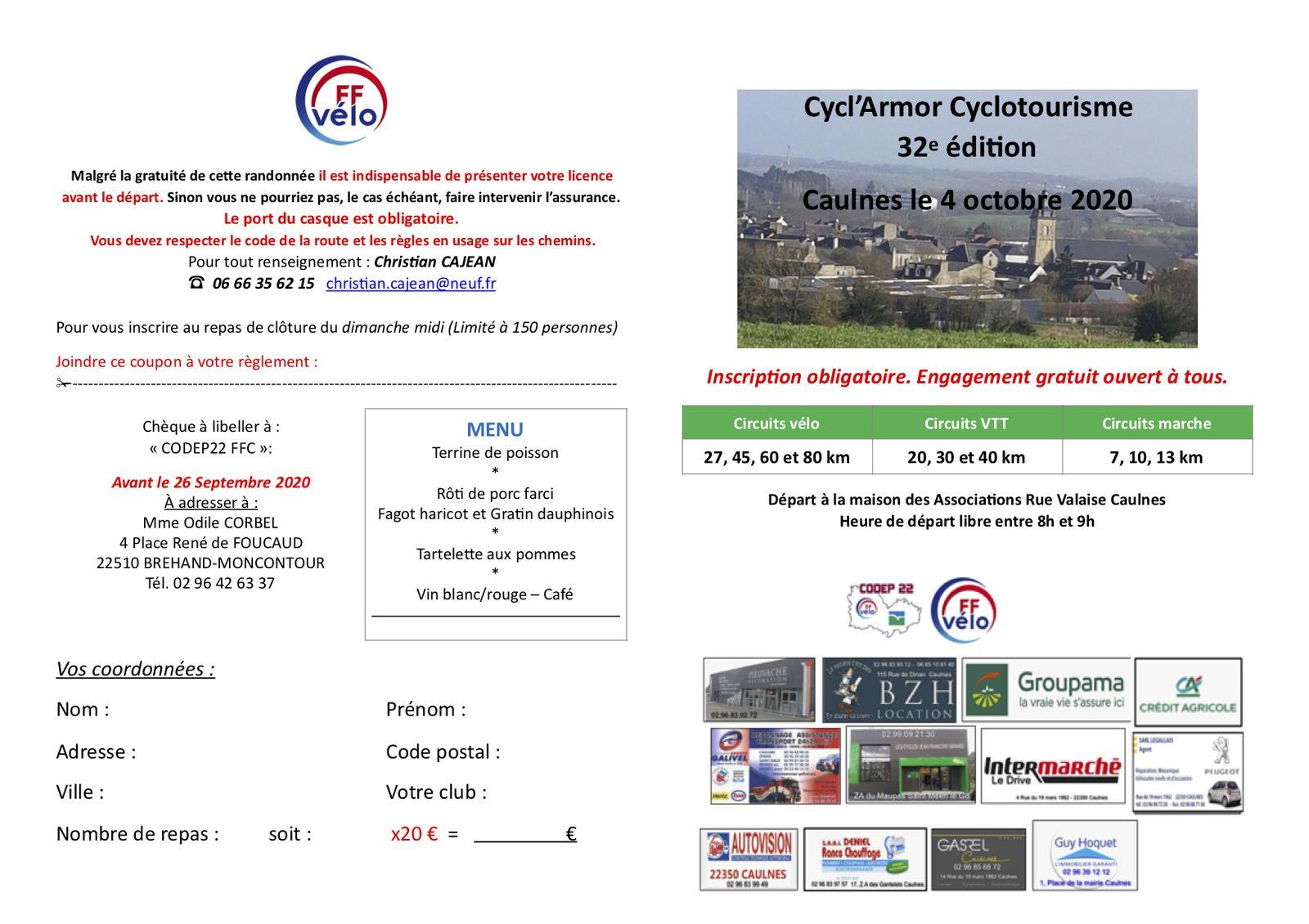 La CYCL'ARMOR le 04-10-20