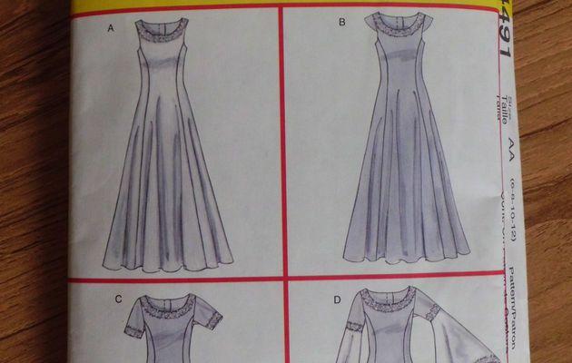 AGoT: 3ème robe: Le patron / AGoT: 3th dress: The pattern