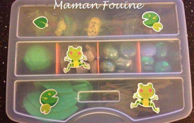 Busy Box : les grenouilles