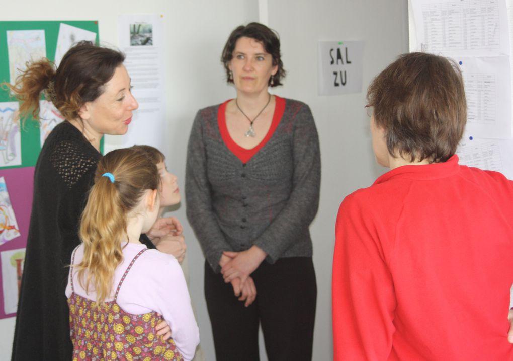 Quelques photos prises à l'Occasion des Portes Ouvertes du Collège Diwan de Saint-Herblain, le 26 mars 2011.