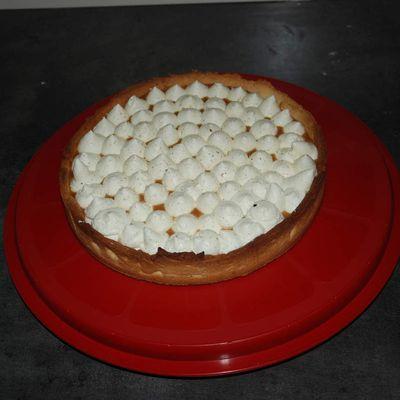 La tarte gourmande à la vanille, au caramel et la tonka