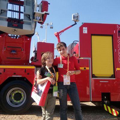 Le congrès national des pompiers 2016