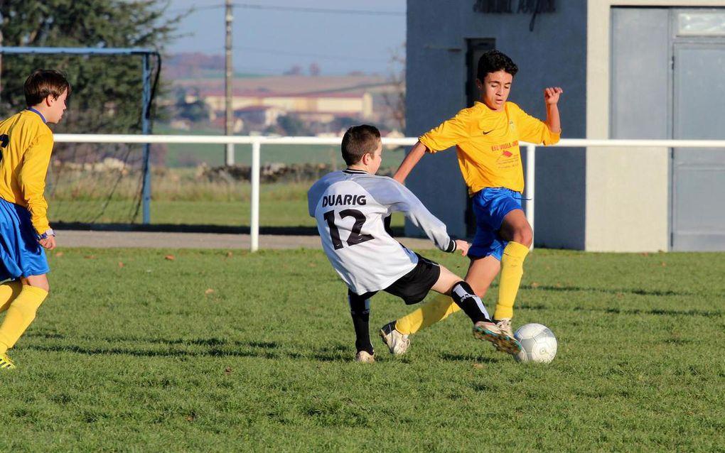 U15 - Coupe du Rhône - éliminé aux tirs aux buts