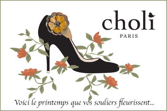 Personnaliser vos souliers avec Choli Paris