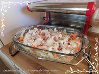 Gratin de fenouil au saumon frais