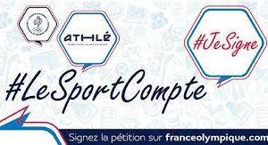 #LeSportCompte - Pétition nationale pour le sport