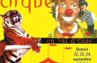 Le 20ème Festival du Cirque de Domont à la télé