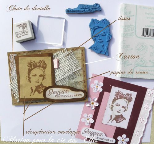 Album - cartes scrapées