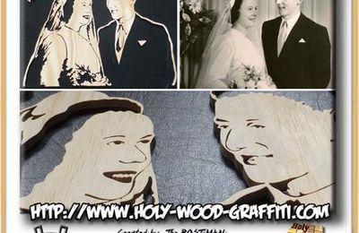 Cadeau noces de Palissandre - 65 ans de mariage