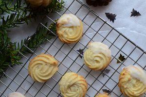 Rosaces vanille et citron - Cadeaux gourmands 20