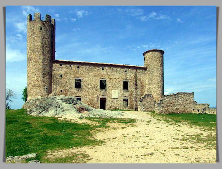 Diaporama château d'Essalois - Chambles