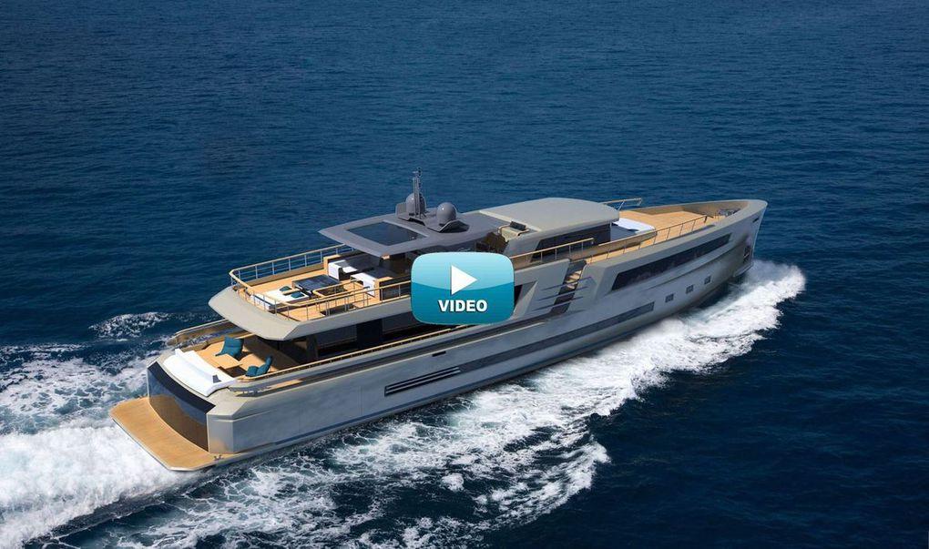 VIDEO - découverte du premier yacht d'exploration du chantier Couach (33)