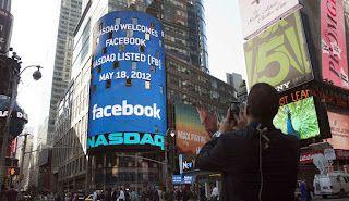 Facebook: coup de frein sur l'audience aux Etats-Unis