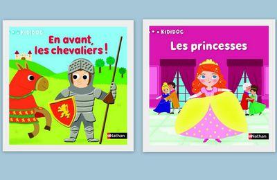 En avant chevalier et Les princesses (Kididoc des petits)