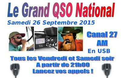 26-09-2015 QSO National du canal 27
