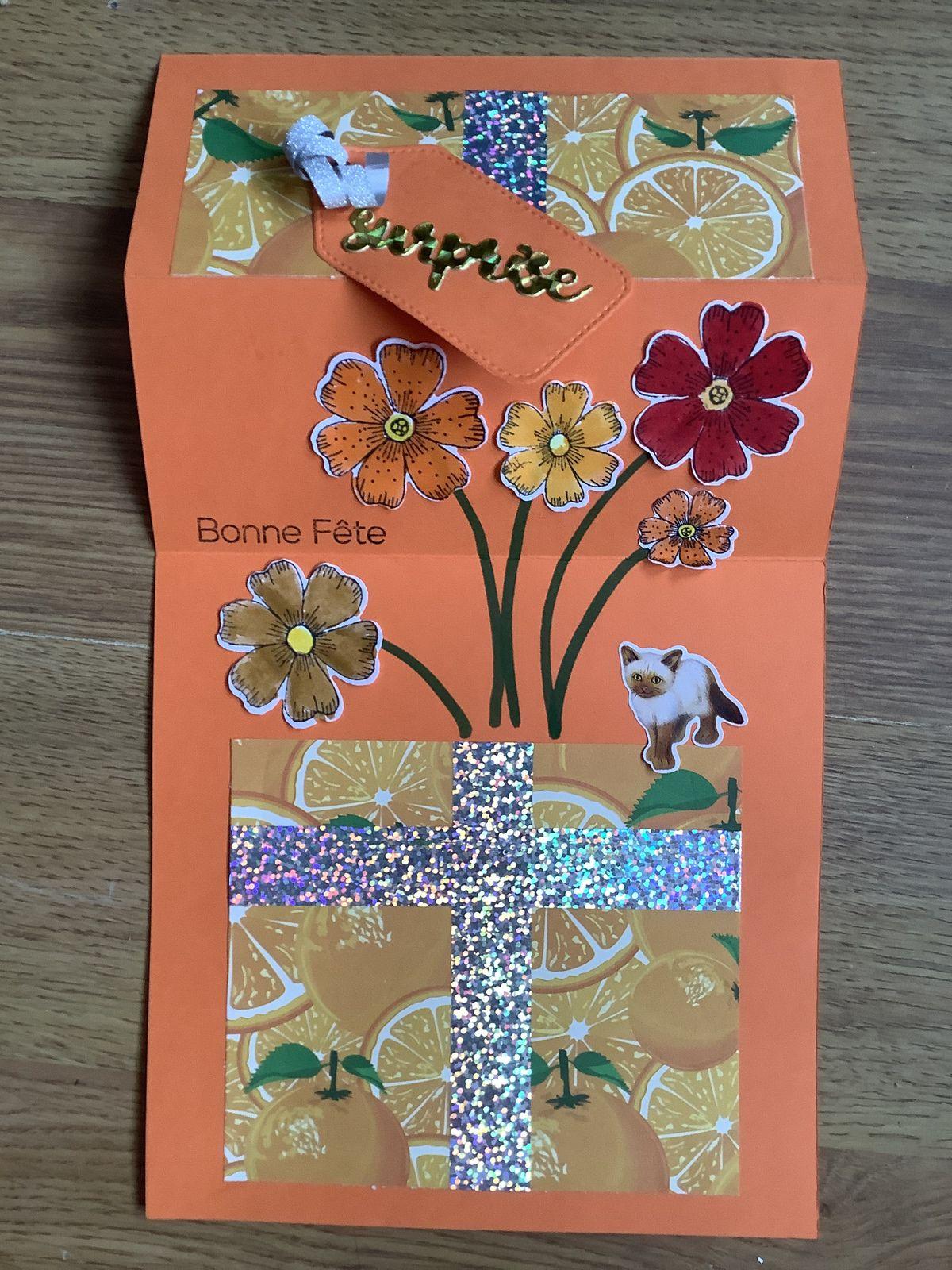 Une jolies cartes pour la fête des grands-mères par Alyssonne