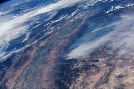 Californie en flammes : les incendies vus depuis la Station Spatiale Internationale