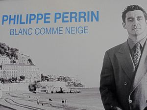 """The Philippe's Perrin political campaign and Thierry Lagata, """"Epinal"""", (2008)."""