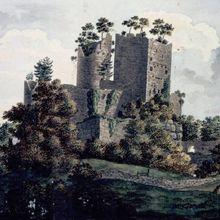 Le Donjon-Palais du château de Rathsamhausen à Ottrott