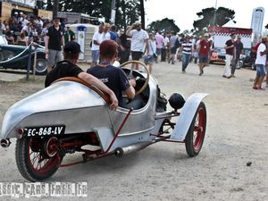 Dans l'ordre : Morgan Runabout, ST, STR, Sporting, Type C, Aero Super Sport, MX4, F2