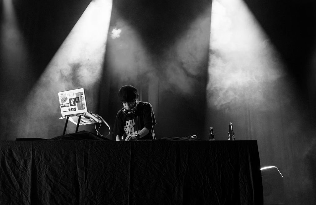 DJ Krush & Morgho live in Toulouse