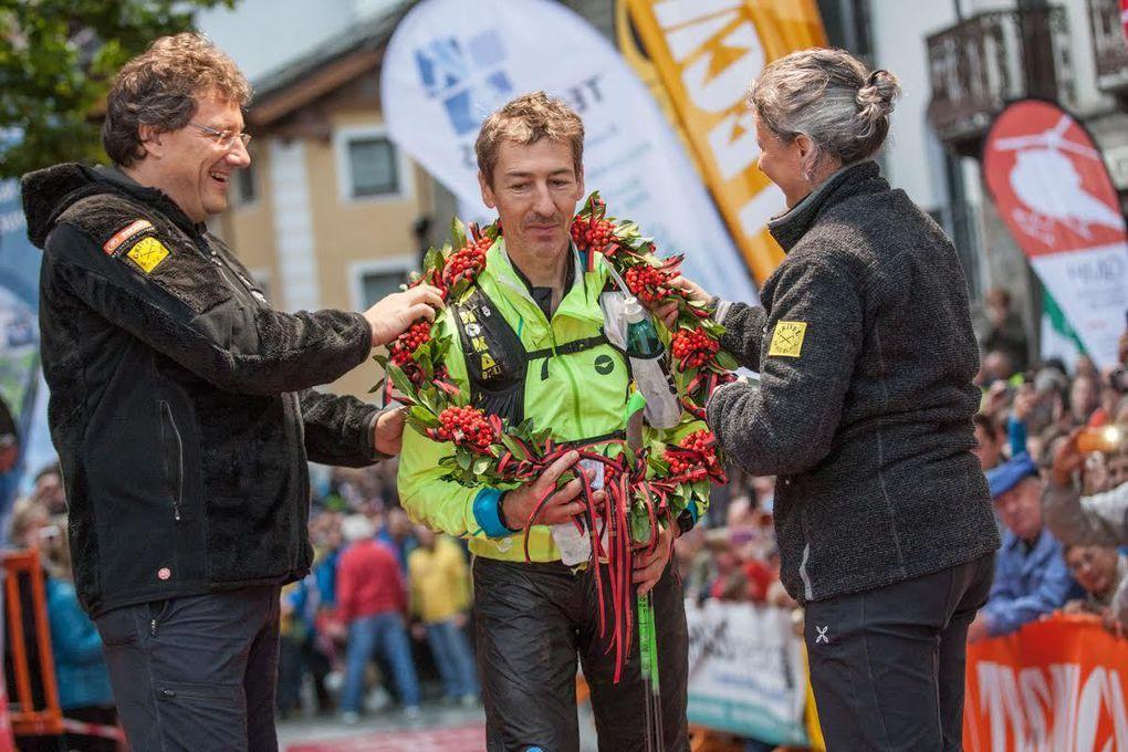 Tor des Géants 2015 (6^ ed.). Alla Francia il primo e il terzo gradino del podio 2015