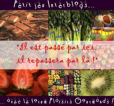 Jeu Interblogs #3