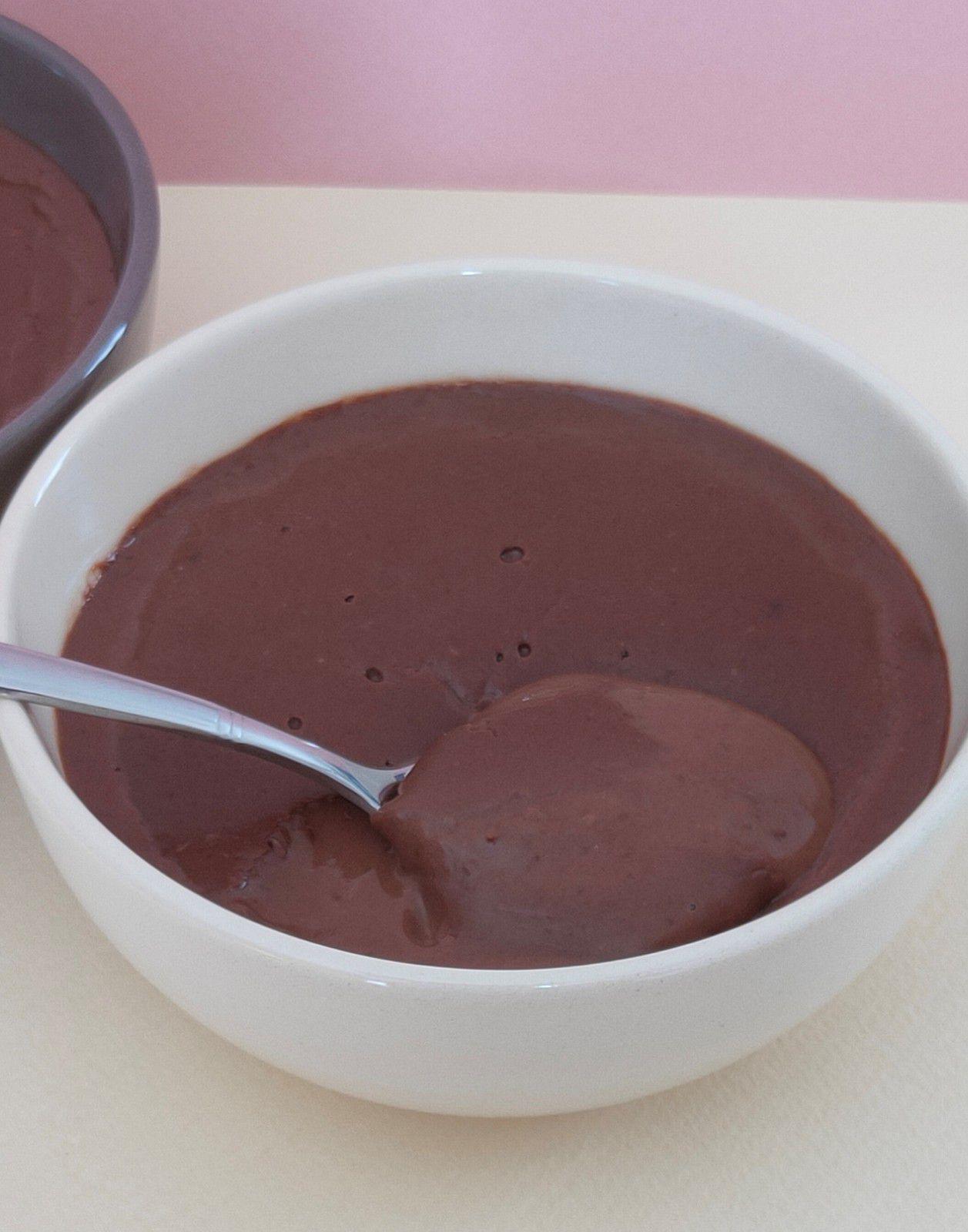 Crème au chocolat comme une Danette